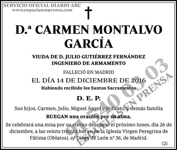 Carmen Montalvo García